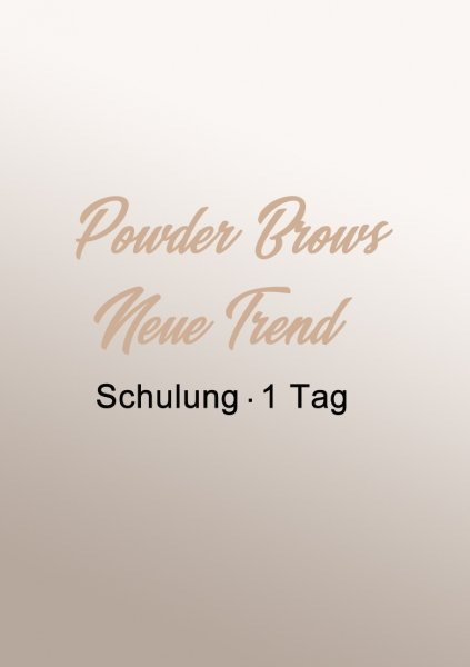 Powder Brows | Neuer Trend!