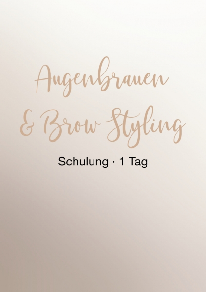Brow Expert Schulung | 1 Tag