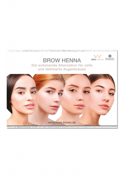 Brow Henna Poster | A1